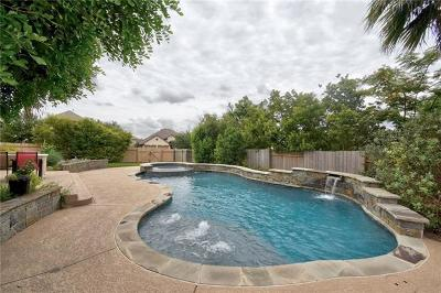 Round Rock Single Family Home Pending - Taking Backups: 4206 Cancelo Way