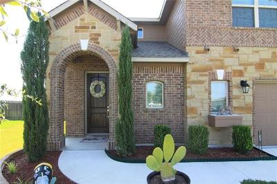 Hutto Single Family Home For Sale: 135 Limerick Cv