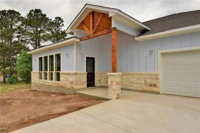 Bastrop Single Family Home For Sale: 160 S Buckhorn Dr