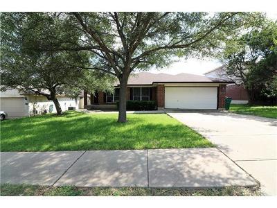 Cedar Park Single Family Home For Sale: 1222 Highland Dr