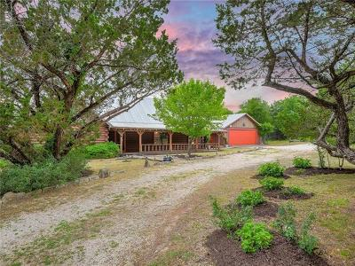 Wimberley Single Family Home Pending - Taking Backups: 560 Skyline Ridge Lookout