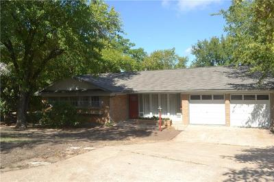 Single Family Home For Sale: 1904 S Matagorda St