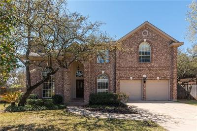 Cedar Park Single Family Home Active Contingent: 1213 Stepp Bnd