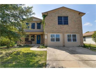 Hutto Single Family Home Pending - Taking Backups: 109 Paige Bnd