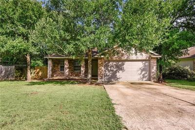 Bastrop County Single Family Home Pending - Taking Backups: 128 Shadow Wood Trl