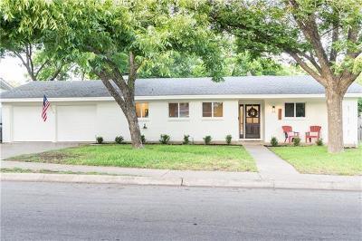 Austin Single Family Home Pending - Taking Backups: 6805 Pioneer Pl