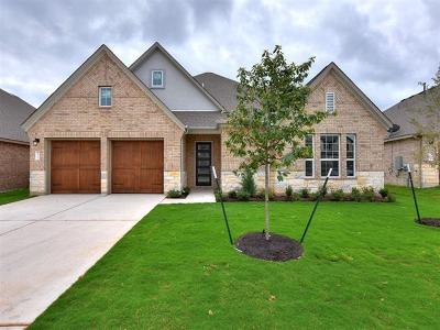 Leander Single Family Home For Sale: 1600 Cresson Trl