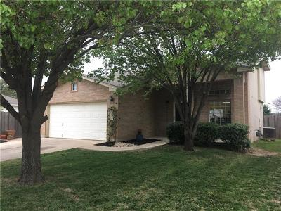 Leander Single Family Home For Sale: 105 Brentwood Dr