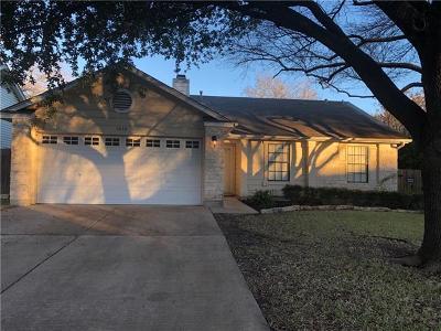 Travis County, Williamson County Single Family Home Pending - Taking Backups: 1610 Honeysuckle Ln