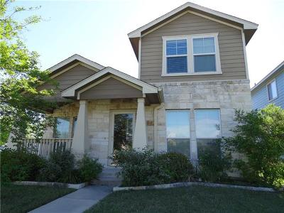 Cedar Park Single Family Home Active Contingent: 1700 Sandhills Dr