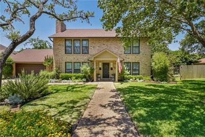 Travis County Single Family Home Pending - Taking Backups: 1902 Plumbrook Dr