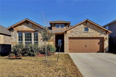 Liberty Hill Single Family Home For Sale: 349 Vista Portola Loop