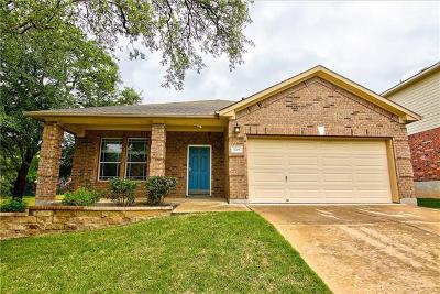 Cedar Park Single Family Home For Sale: 3705 Juniper Hills St