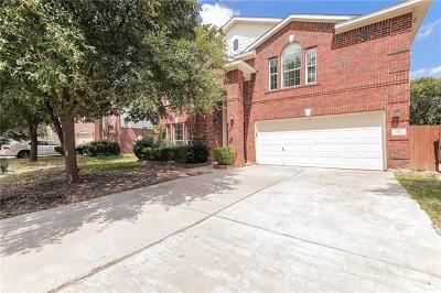 Round Rock Single Family Home For Sale: 3911 Bonnie Ln