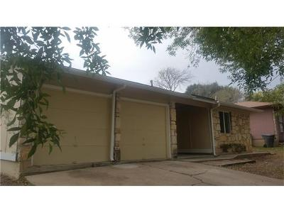 Hays County, Travis County, Williamson County Single Family Home For Sale: 5508 S Pleasant Valley Rd