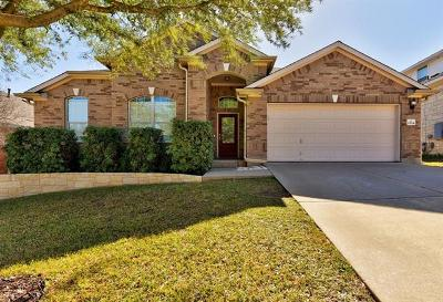 Cedar Park Single Family Home For Sale: 1504 Bird Dog Ln