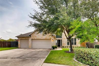 Round Rock Single Family Home For Sale: 2700 Cedar Springs Pl