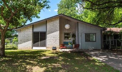 Travis County Single Family Home Pending - Taking Backups: 1104 Mahan Dr