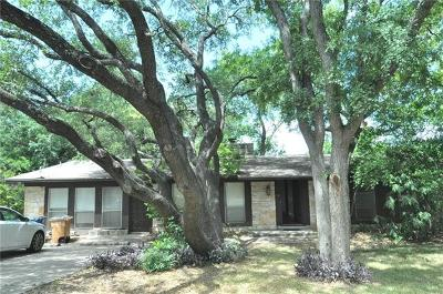 Austin Single Family Home For Sale: 2603 Deerfoot Trl