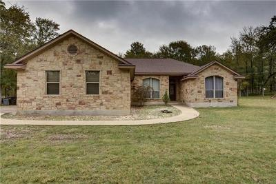 Bastrop County Single Family Home Pending - Taking Backups: 223 Kaelepulu Dr