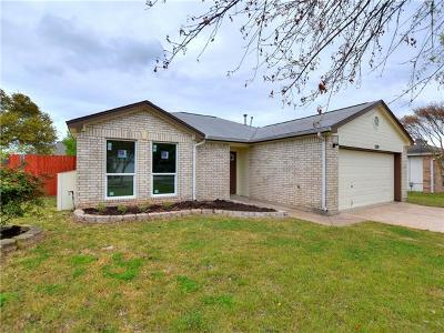 Leander Single Family Home Pending - Taking Backups: 1719 Greening Way