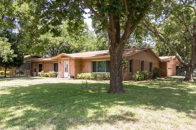 Taylor Single Family Home For Sale: 1800 Grace St