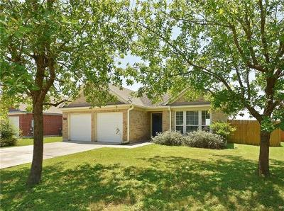 Kyle TX Single Family Home For Sale: $209,500
