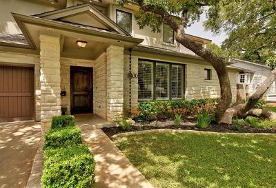 Austin TX Single Family Home For Sale: $1,200,000