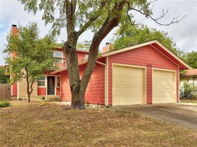Hays County, Travis County, Williamson County Condo/Townhouse For Sale: 1505 Waterloo Trl #A