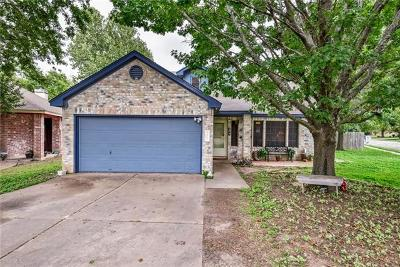 Round Rock Single Family Home For Sale: 308 Country Aire Dr