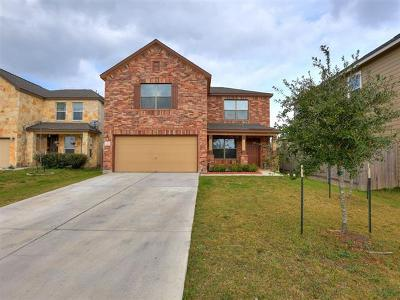 Del Valle Single Family Home Pending - Taking Backups: 12308 Noel Bain Cv