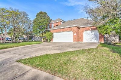 Round Rock Single Family Home For Sale: 8356 Fern Bluff Ave