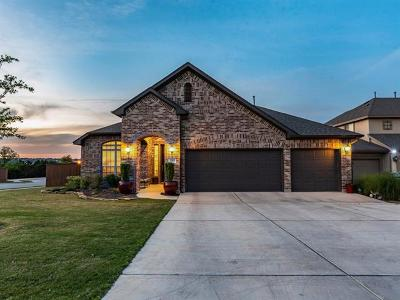 Leander Single Family Home For Sale: 2213 Legend Hill Dr