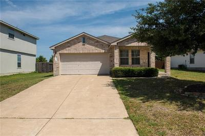 Hutto Single Family Home For Sale: 215 Paddington Way