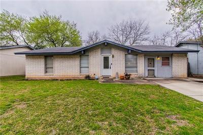 Austin Single Family Home Pending - Taking Backups: 2523 Berkett Dr