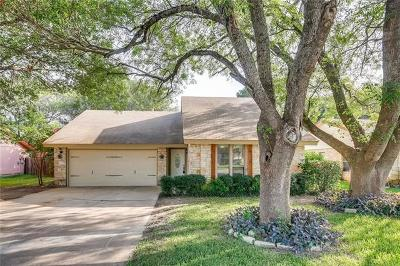Round Rock Single Family Home For Sale: 1500 Wroxton Way