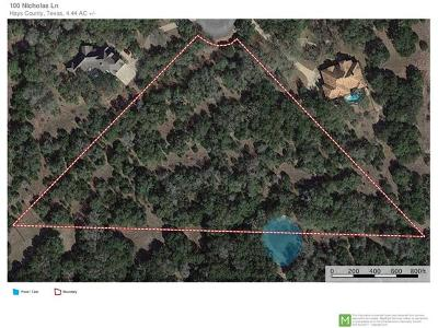 Residential Lots & Land For Sale: 100 Nicholas Ln