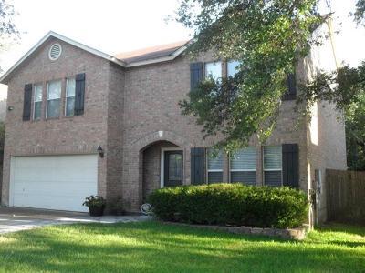 Cedar Park Single Family Home For Sale: 1509 Shady Creek Trl