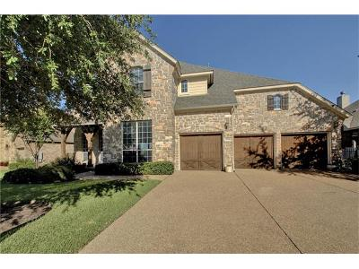 Round Rock Single Family Home For Sale: 1004 Wood Mesa Dr