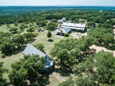 Dripping Springs Single Family Home For Sale: 4901 McGregor Ln