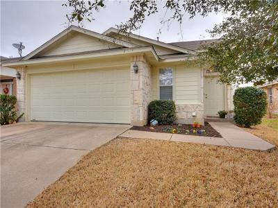 Williamson County Single Family Home For Sale: 3834 Castle Rock Cv