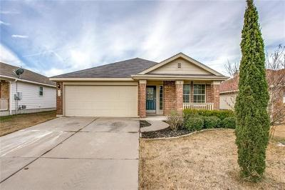 Hutto TX Single Family Home For Sale: $214,900