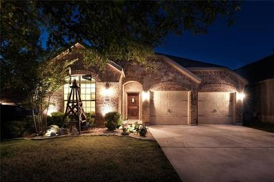 Hutto Single Family Home For Sale: 204 Dowdy Cv