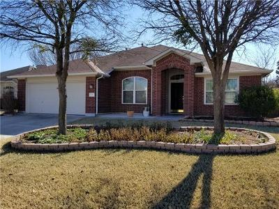 Pflugerville Single Family Home For Sale: 1509 Campanula Ct