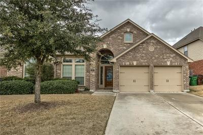Hutto Single Family Home For Sale: 1104 Whitemoss Dr