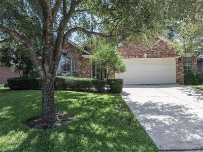 Round Rock Single Family Home For Sale: 8505 Springfield Gorge Dr
