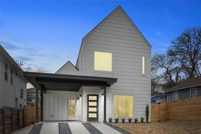Austin Single Family Home For Sale: 2300 E 10th St #1