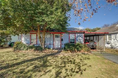 Travis County Single Family Home For Sale: 5520 Woodrow Ave