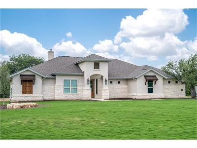 Leander Single Family Home For Sale: 225 Highland Oaks