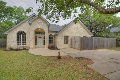 Cedar Park Single Family Home For Sale: 200 S Mustang Ave